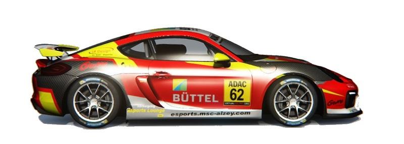 Porsche Cayman GT4 Banner