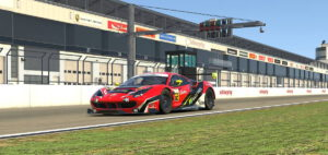 iRacing Ferrari Slider